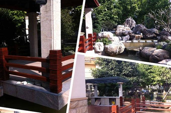 翡翠绿洲浅水湾园林景观设计装修施工